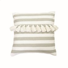 20X20 Hand Woven Minty Pillow