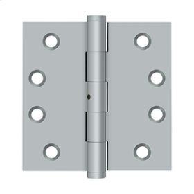 "4""x 4"" Square Hinges - Brushed Chrome"