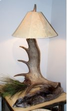 Moose Lamp Product Image