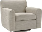 Ernest Hemingway ® Spender Swivel Chair (Fabric)