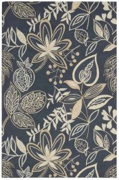 FANTASY FA21 SMOKE RECTANGLE RUG 1'9'' x 2'9''