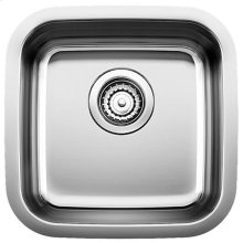 Blanco Stellar® Bar Bowl - Stainless steel refined brushed finish