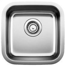 Blanco Stellar® Bar Bowl - Stainless steel refined brushed finish