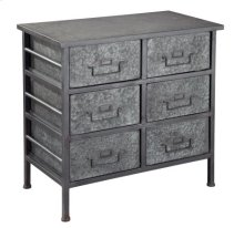 Six Drawer Metal Chest