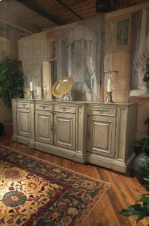 The Billiard Room 3 Piece Media Cabinet with Lift