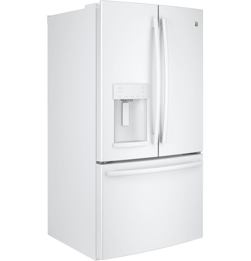 GE® ENERGY STAR® 25 8 Cu  Ft  French-Door Refrigerator