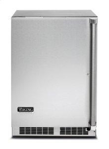 """24"""" Solid Door Undercounter Refrigerator, Left Hinge/Right Handle"""