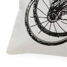 Stone Wash Recycled Canvas Cushion