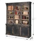 Brothers Black Bookcase Product Image