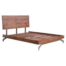 Perth Queen Bed Chestnut
