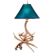Antler Table Lamp No Shade
