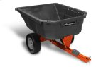 12.5 cu. ft. Poly Swivel Utility Dump Cart Product Image