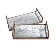 Maci Reactive Trays - Silver