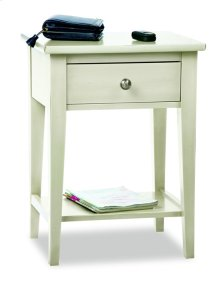 Transitional Open Night Stand