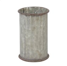 Corrugated Cylinder Pot