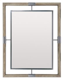 Mosaic Mirror in Mosaic Dark Taupe (373)