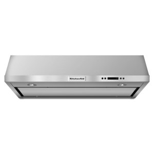 36'' Under-the-Cabinet, 4-Speed System - Stainless Steel