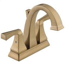 Champagne Bronze Two Handle Centerset Lavatory Faucet
