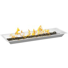 "30"" Linear Patioflame Burner Kit , Stainless Steel , Propane"