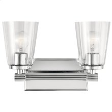 Audrea Collection Audrea 2 Light Bath Light CH