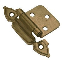 Surface Self-Closing Cabinet Hinge (2-Pack)