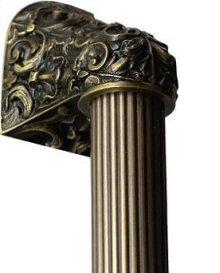 Acanthus - Antique Brass Fluted Bar