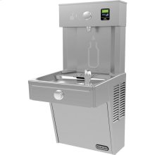 Elkay EZH2O Vandal-Resistant Bottle Filling Station & Single Cooler, Filtered Non-Refrigerated Stainless