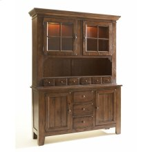 Attic Heirlooms China Base, Natural Oak Stain
