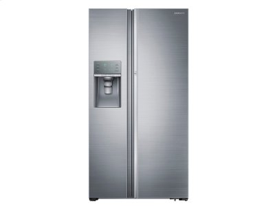 22 cu. ft. Counter Depth Side-by-Side Food ShowCase Refrigerator with Metal Cooling Product Image