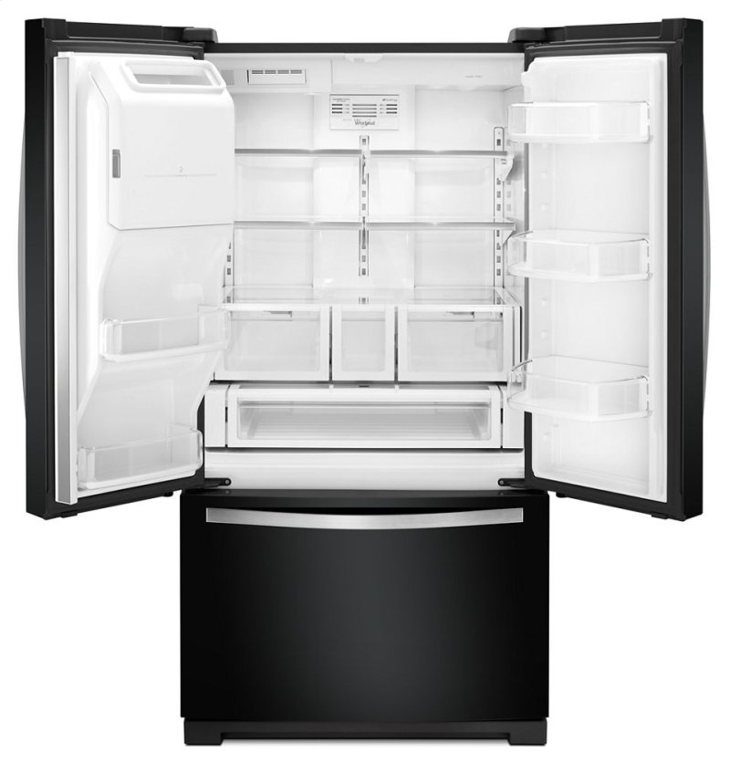 36 Inch Wide French Door Bottom Freezer Refrigerator With Right System 27cu Ft