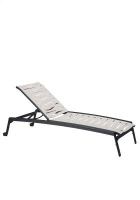 Elance EZ SPAN Wave Segment Chaise Lounge Armless with Wheels