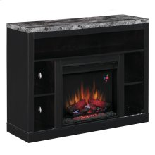 Adams TV Stand with Electric Fireplace