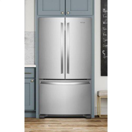 Whirlpool® 36-inch Wide Counter Depth French Door Refrigerator - 20 cu. ft. - Fingerprint Resistant Stainless Steel