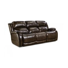 170-37-21  Double Reclining Power Sofa     ***TOP-GRAIN LEATHER***