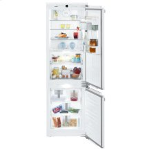 "24"" Combined refrigerator-freezer with BioFresh and NoFrost for integrated use"