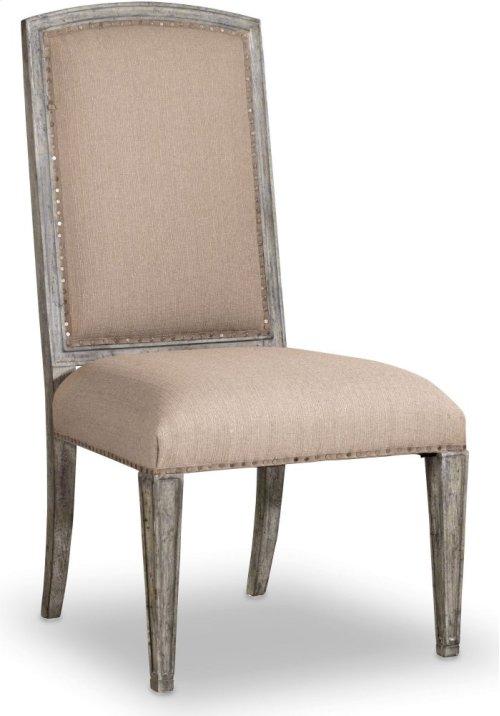 True Vintage Upholstered Side Chair