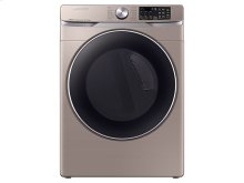DV6300 7.5 cu. ft. Smart Gas Dryer with Steam Sanitize+ in Champagne