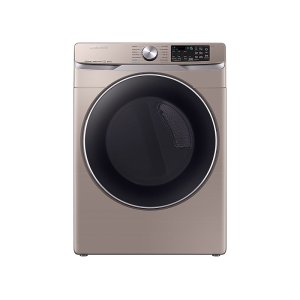 Samsung7.5 cu. ft. Smart Gas Dryer with Steam Sanitize+ in Champagne
