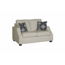 Love Seat - Off-White Chenille Finish