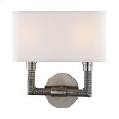 Dubois Wall Sconce - Historic Nickel Product Image