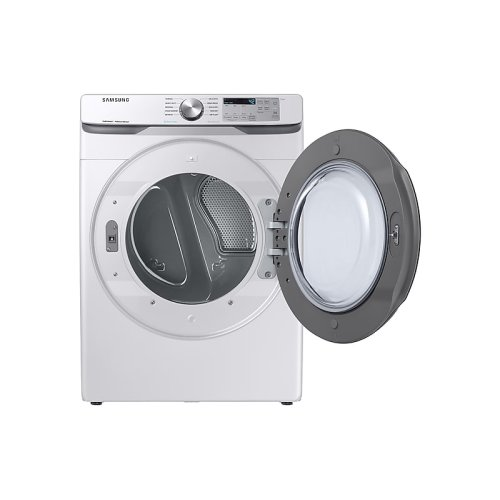 DV6100 7.5 cu. ft. Electric Dryer with Steam Sanitize+ in White