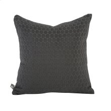 "16"" x 16"" Pillow Deco Pewter"