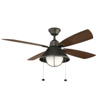 """Seaside LED 54"""" Fan Olde Bronze®"""