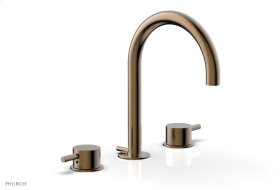 BASIC II Widespread Faucet 230-04 - Old English Brass