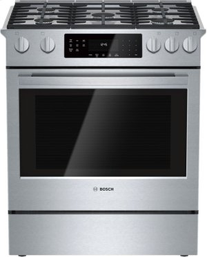 800 Series, All-Gas Slide-In Range Product Image