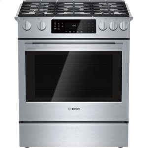 BOSCH800 Series, All-Gas Slide-In Range