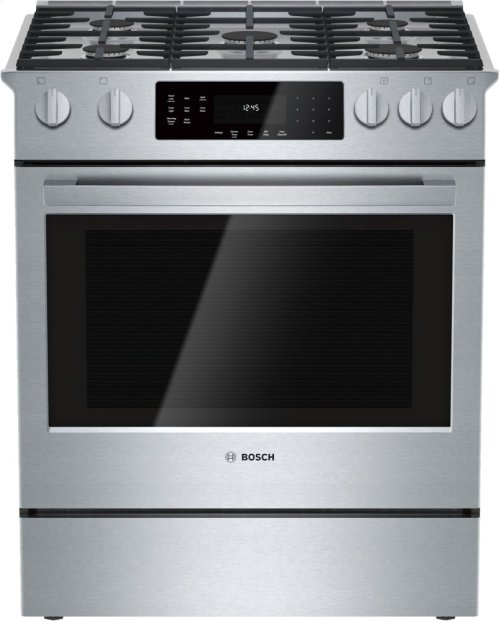 800 Series, All-Gas Slide-In Range