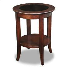 Chocolate Bronze Round Side Table #10036