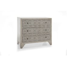 Ivory Nailhead Chest