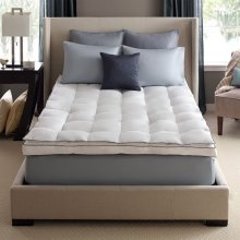 Full Down on Top Feather Bed Mattress Topper Full